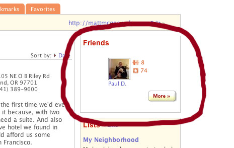 Yelp.com - 1 friend