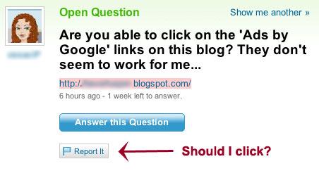 Yahoo Answers screenshot