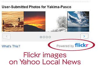 Flickr on Yahoo Local News