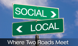 street signs - social and local
