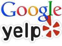 google-yelp-logos