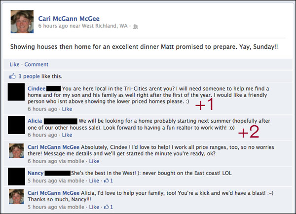 Check It Out: Actual Real Estate Leads via Facebook : Small
