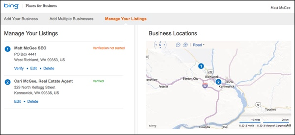 bing-places-dashboard
